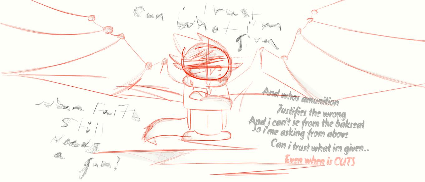 SongPic Sketch  -~- Kinshay by Toxic552