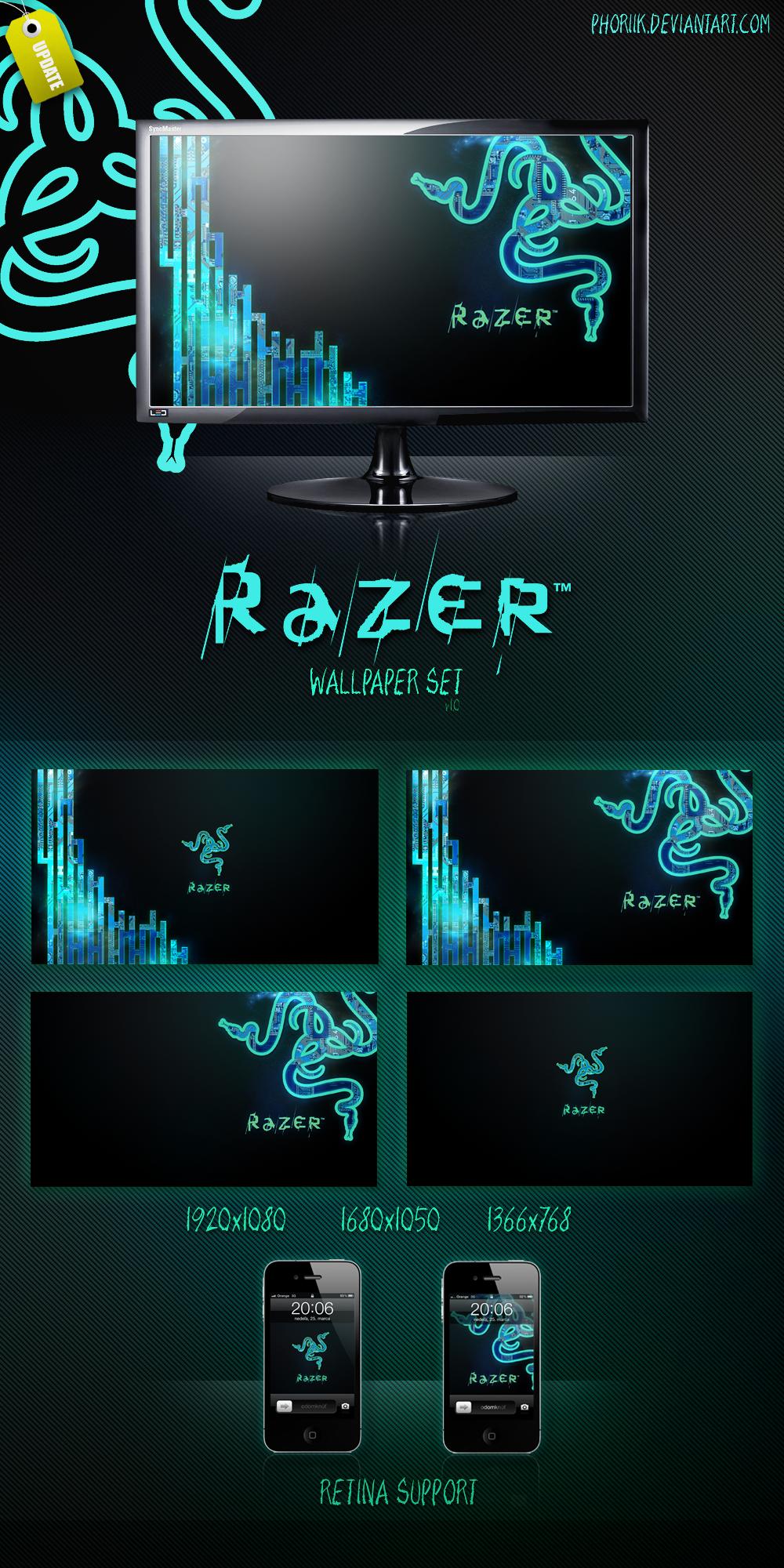 RAZER WallpaperSet HD by LukSykora