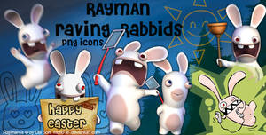 Rayman Raving Rabbids PNG Icon by moho-xi-