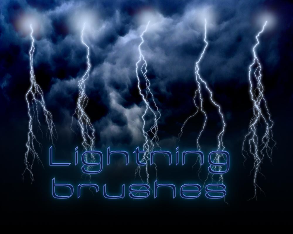 Lightning brushes  Hi Res by Bull53Y3