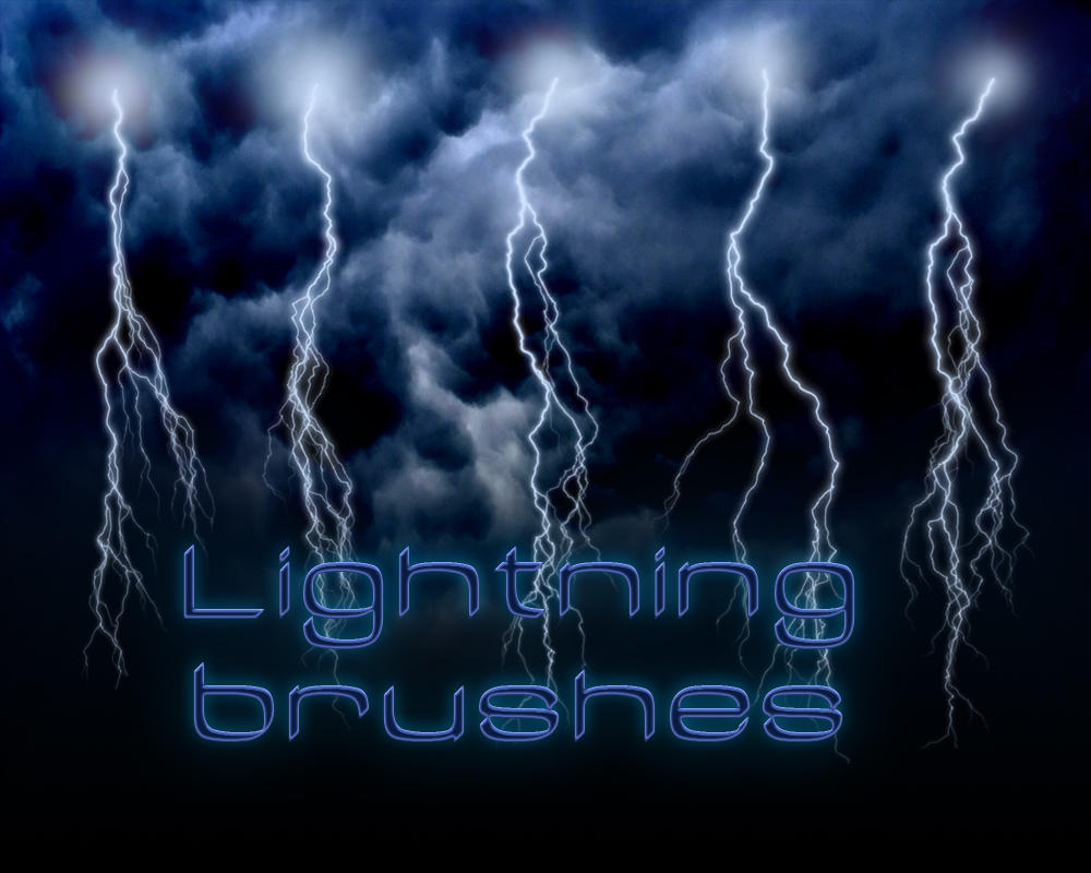Lightning brushes  Hi Res by Bull53Y3