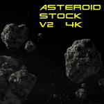 Asteroid field 2  (4k)