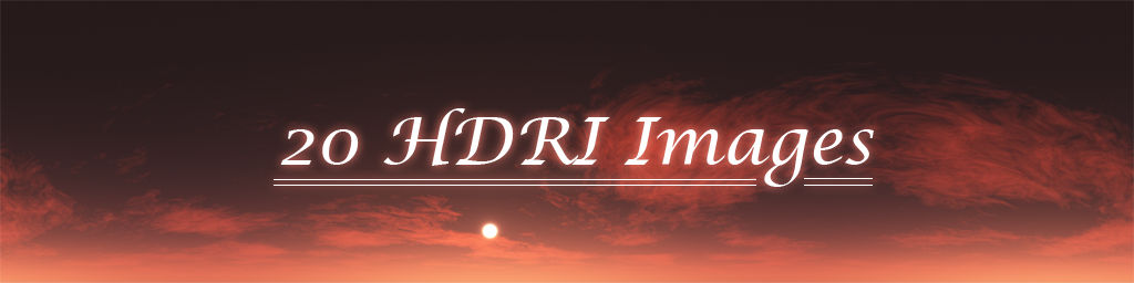 20 HDRI Images