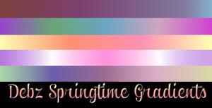 Debz Springtime Gradients for GIMP