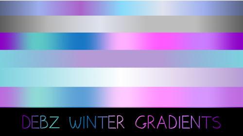 Debz Winter Gradients