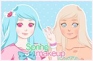 Spring Makeup Game by PeppermentPanda