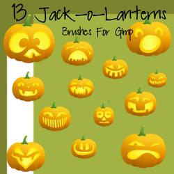 13 Color Jack-o-Lanterns
