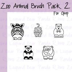 Cartoon Zoo Animals Pt2