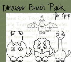 Dinosaur Brush Pack