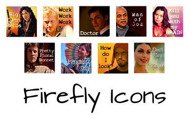Firefly Icon Set