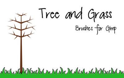 Tree and Grass Brush