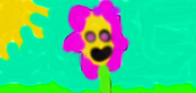 a pink flower by princesshustun