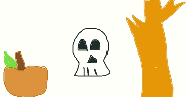 a late halloween drawing by princesshustun
