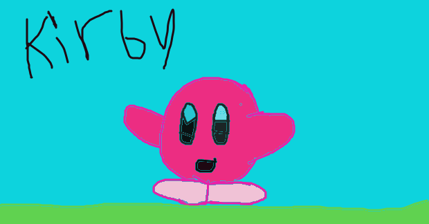 kirby by princesshustun
