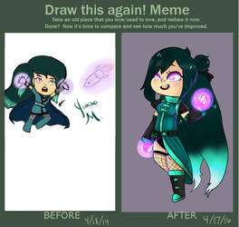 Draw Again Meme [2 year] by Japandaa