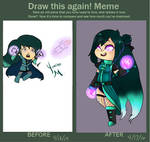 Draw Again Meme [2 year] by Japandaa