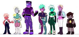 SUOCs: Crystal Warriors Sector D sketch