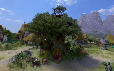 Golden Oak 1080p by Chritsel