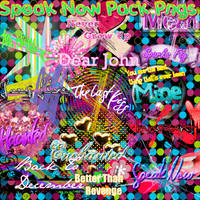 Speak now pngs pack by Itzeditions