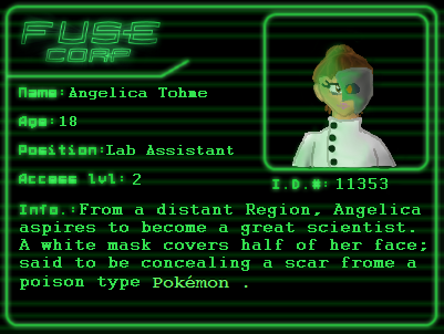 Angelica Tohme FUSE-Corp ID card by SPQR21