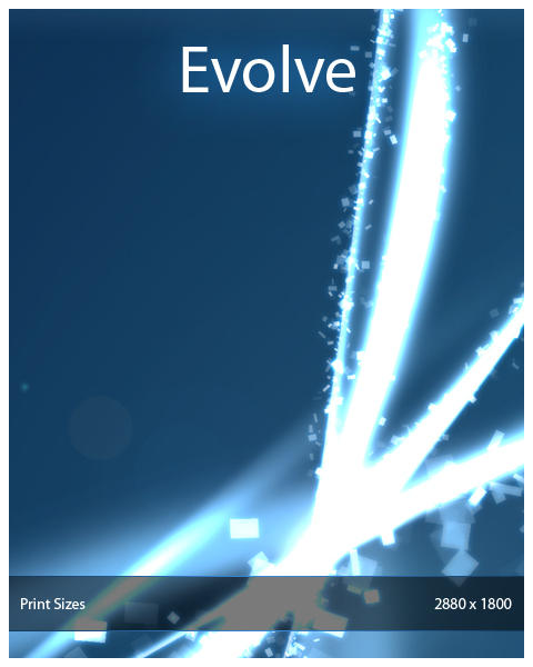 Wallpaper - Evolve by Renacac