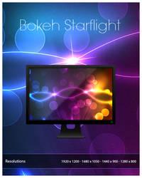 Wallpaper - Bokeh Starflight by Renacac