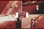 PSD 002 - Dark red