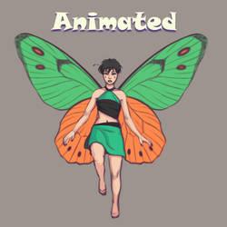 Flying Fairy 3 - Animated by VixenArtz