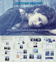 Photomanipulation Tutorial Rus by ForestGirl