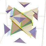 exploding tetracube by dansmath