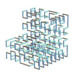space-filling hilbert path by dansmath