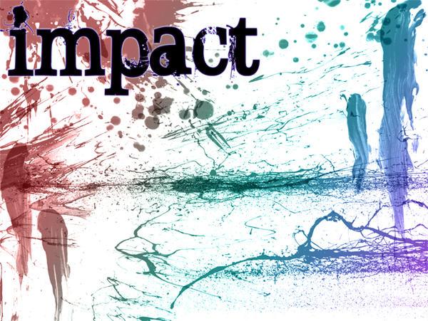 Impact - BloodSplatter Brushes by archaii