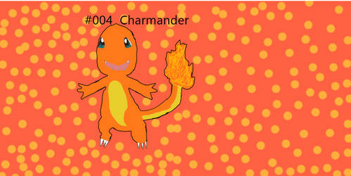 Charmander (Outline )