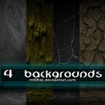 4 Backgrounds By M10tje