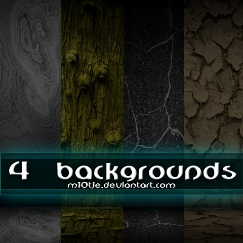 4 Backgrounds By M10tje by M10tje