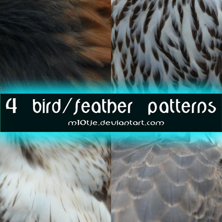 4 Bird Pattern by M10tje