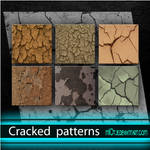 Cracked patterns