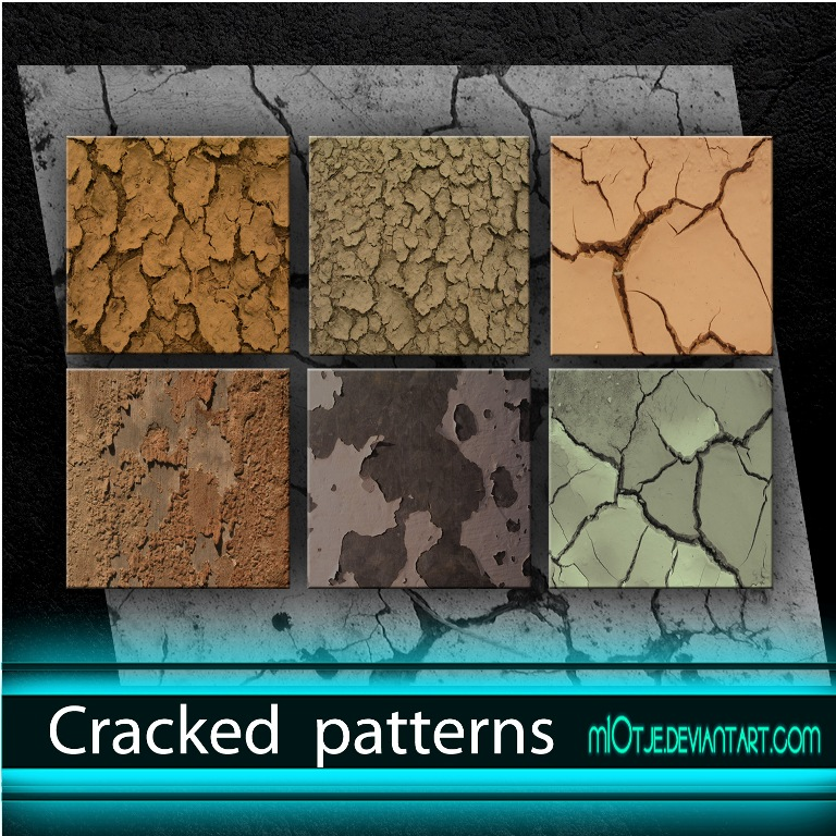 Cracked patterns by M10tje