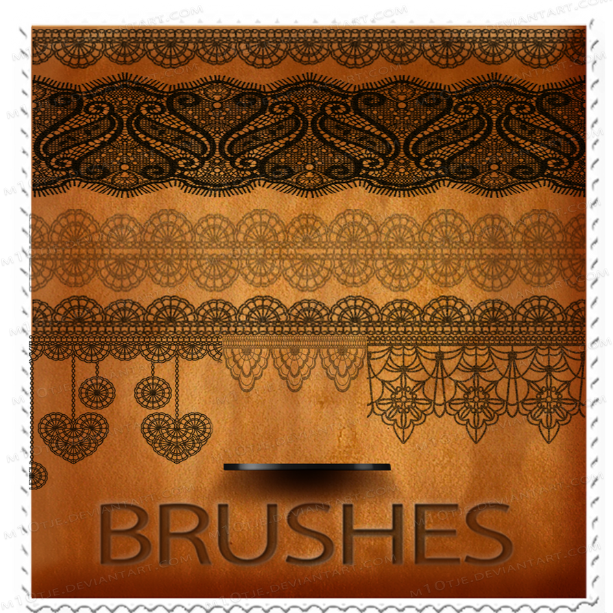 Lace Brushes part 1 by M10tje