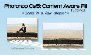 Gone in a few steps ! Content Aware Fill Tutorial by M10tje