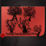 Fantasy Trees Brushes