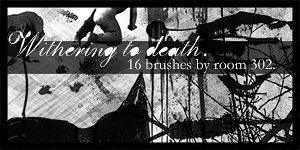 Withering to death. brushes by viralinput