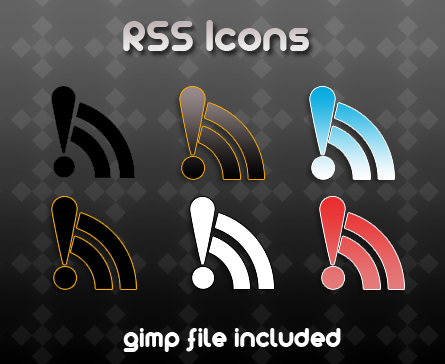 rss icons by billgoldbergmania