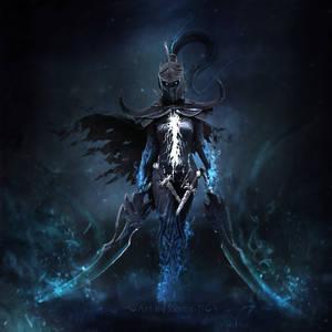 Where falls my shadow fells my blade