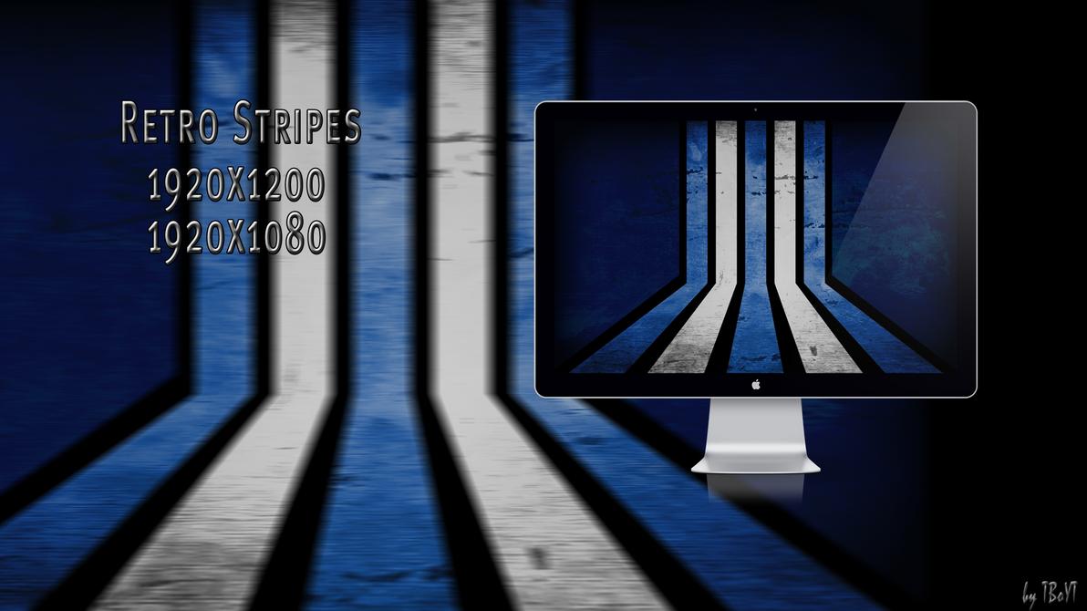 Retro Stripes Wallpaper by TBoYT