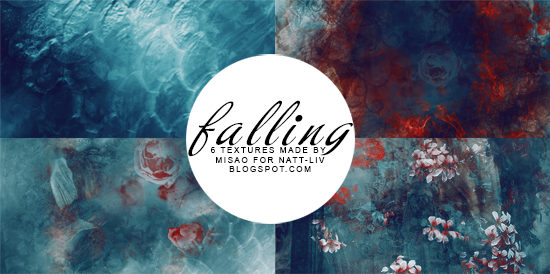 Falling Textures Made By Misao @natt-liv by devilMisao