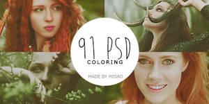 91 psd coloring