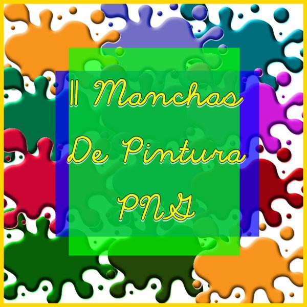 Manchas de Pintura PNG by Luiisa9612