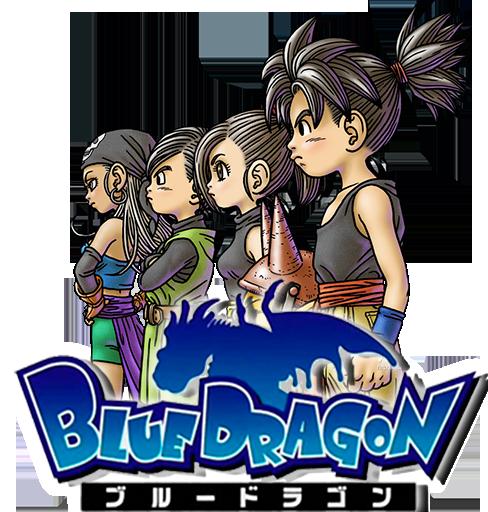 Blue Dragon Anime Icon by Ryuichi93