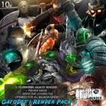 GatoDet Render Pack 3